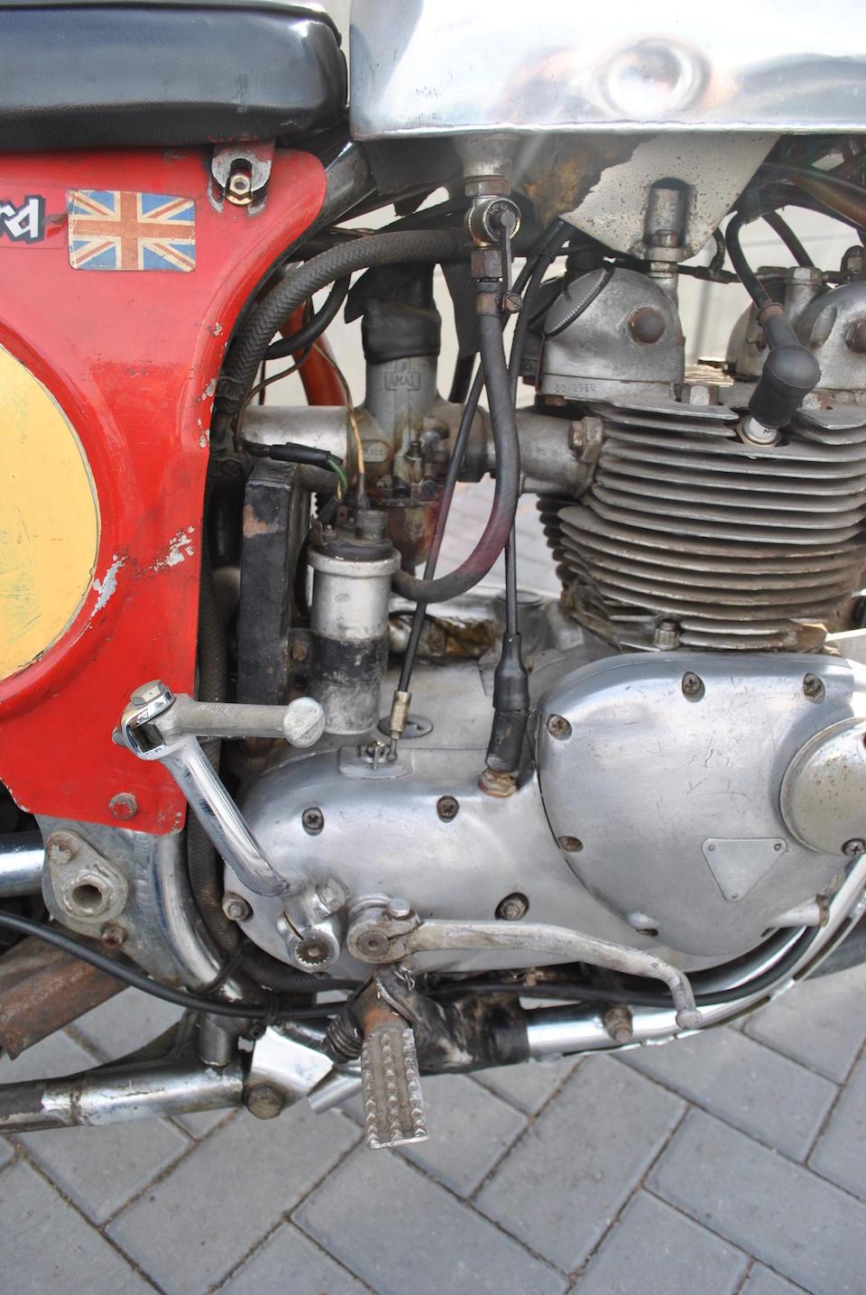 The ex-Jim Sandiford, ISDT,1970 Cheney Triumph 504cc Tiger 100C Frame no. MK2 102 Engine no. JD24845 T100C Jim Sandiford