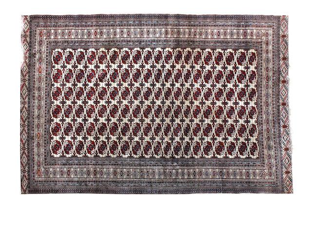 A Turkoman rug Iran 358cm x 268cm