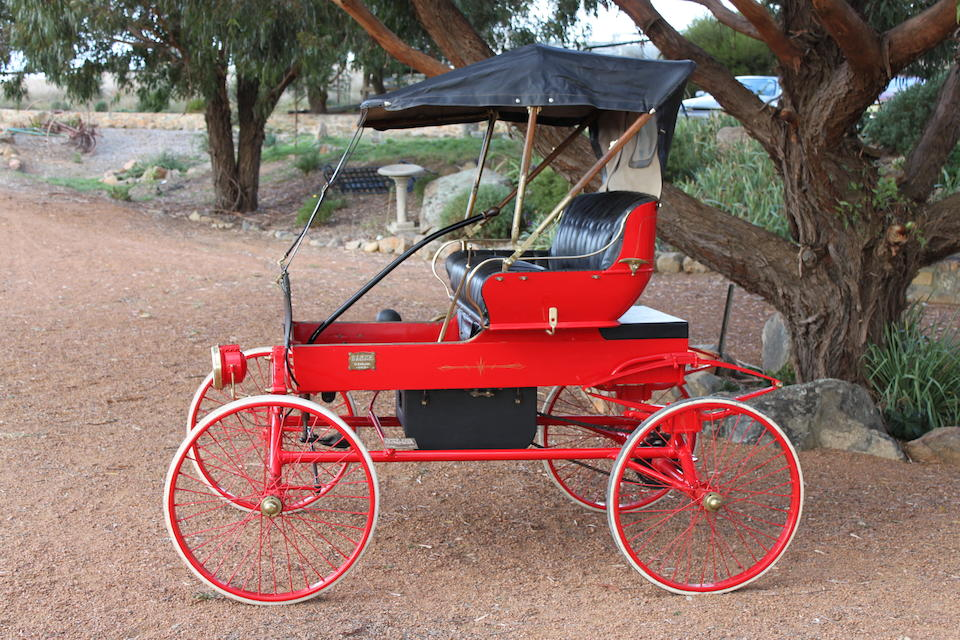 1902 Baker Electric Runabout  Chassis no. 137 Y-02