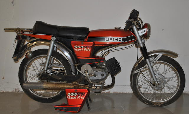 1976 Puch M50 Grand Prix Sports Moped Frame no. 2102.105