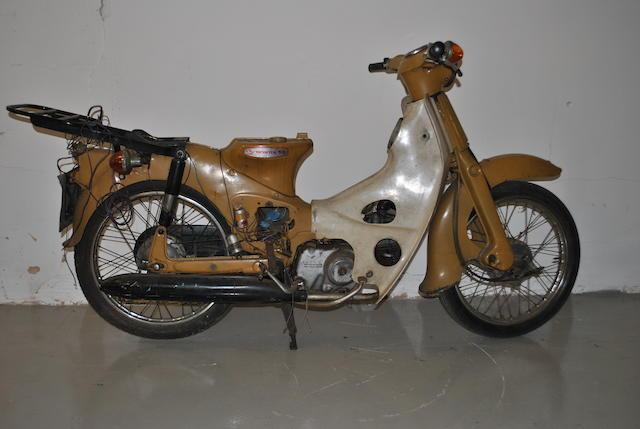 1967 Honda 49cc C50 Frame no. C50EF 0208886