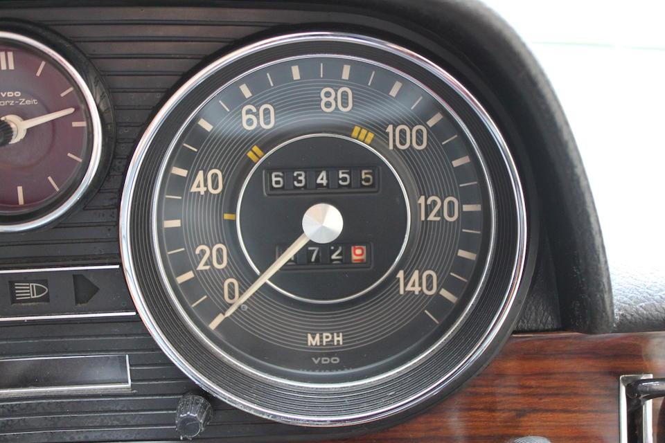 1975 Mercedes-Benz 250/8 Compact Sedan  Chassis no. 11461122109630 Engine no. 13092322034881
