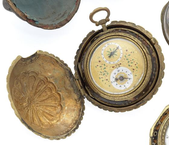 George Prior. An interesting early 19th Century silver triple case verge pocket Watch