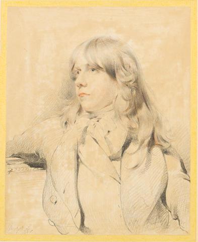Sir Thomas Lawrence, PRA (British, 1769-1830) Portrait of a young man, said to be John Millington, Esq.