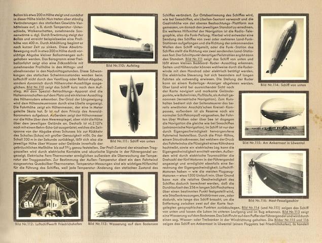 AERONAUTICA - ZEPPELINS Zeppelin-Weltfahrten