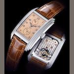 Patek Philippe. A very fine and rare platinum tourbillon chronometer wristwatch with 10-day power reserve still sealed in its factory plastic together with fitted presentation box and Certificate of Origin 10 Day Tourbillon, Ref:5101P, Case No.4378811, Movement No.3361281, Sold 16th December 2006