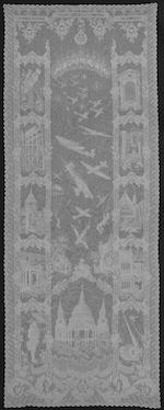 A Battle of Britain lace panel