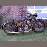1935 Matchless 245cc Model F4 Frame no. 966 Engine no. 35F4 930