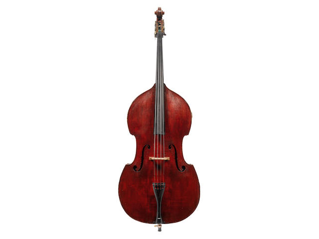 A Four String French Bass of the Paris School, circa 1860 (2)