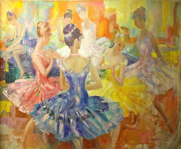 Frederic John LLoyd Strevens (British, 1902-1990) 65 x 74cm