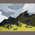 Sir Kyffin Williams R.A. (British, 1918-2006) Nant Ffrancon 61 x 76 cm. (24 x 30 in.)