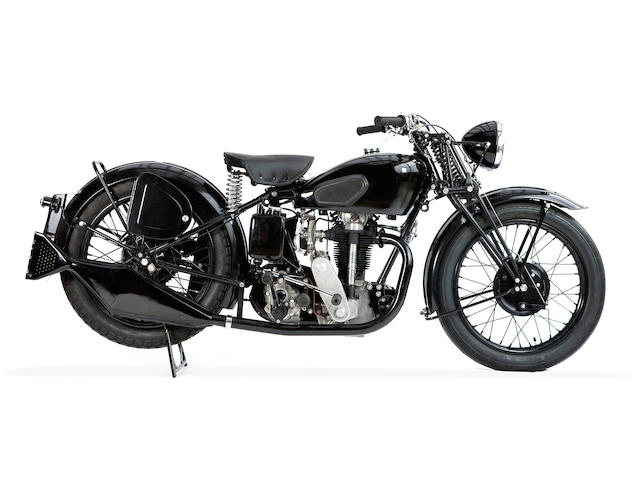 1931 Velocette 350 Frame no. KTL5096 Engine no. KSS4432