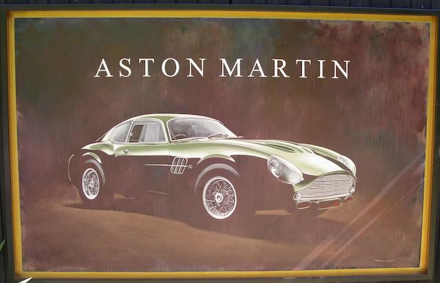 Tony Upson, 'Aston Martin DB4 Zagato',
