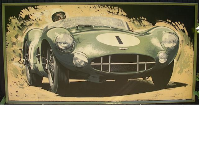 Tony Upson, 'Stirling Moss - Aston Martin DBR1',