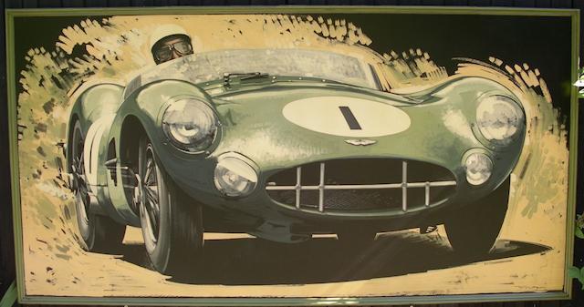 Tony Upson, 'Stirling Moss - Aston Martin DBR1',