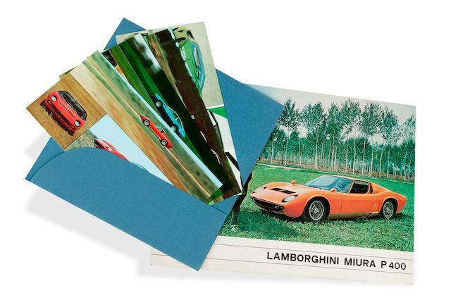 A Lamborghini Miura P400 Sales Brochure
