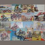 Triumph sales brochures for 1950s and 1960s,