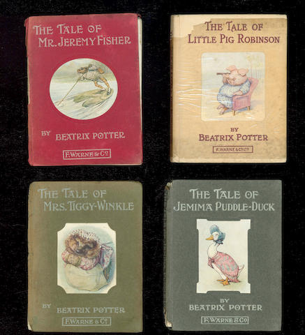 POTTER (BEATRIX) The Tale of Jemima Puddle-Duck
