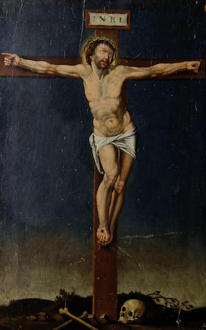 Flemish School, late 17th Century The Crucifixion