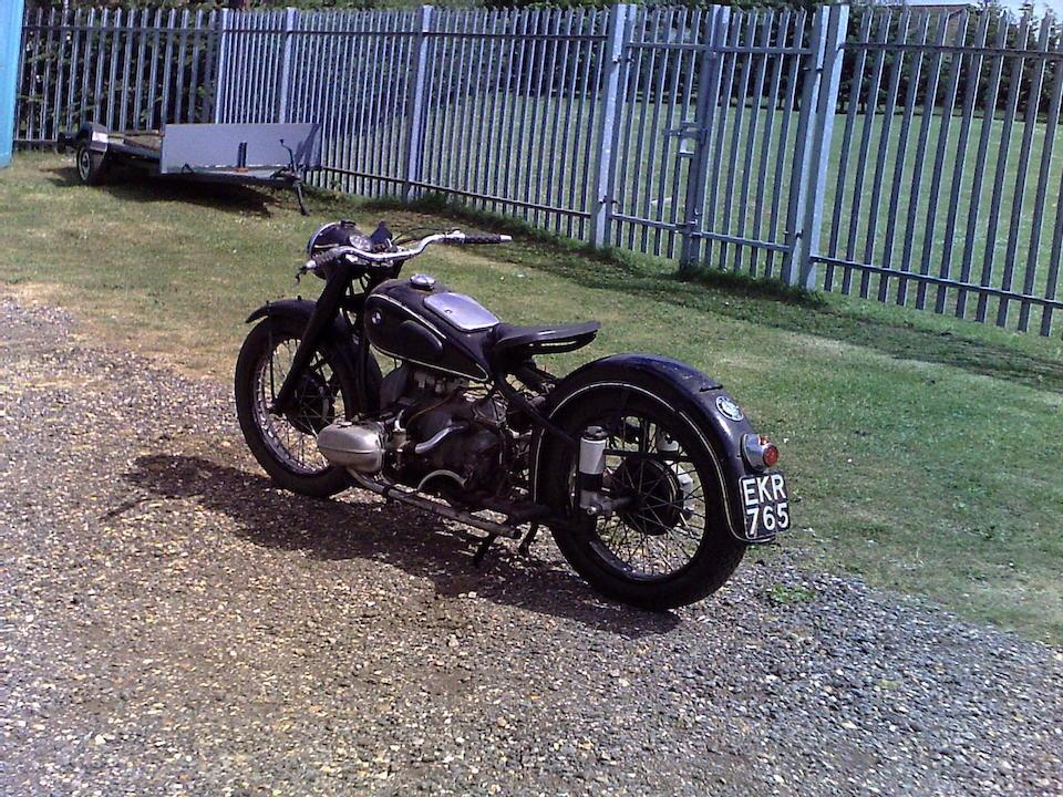 1938 BMW 597cc R66 Frame no. 506011 Engine no. 660255