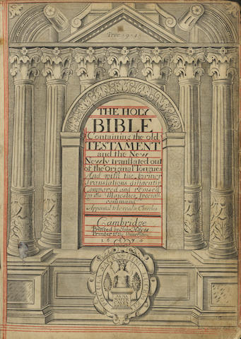 BIBLE, in English, Authorized version The Holy Bible