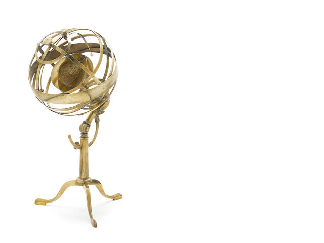 A George Adams armillary sphere, English, circa 1790