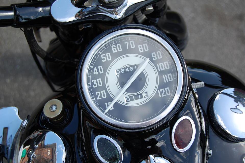 1943 Harley-Davidson 750cc WLA 45 Engine no. 42WLA 58681