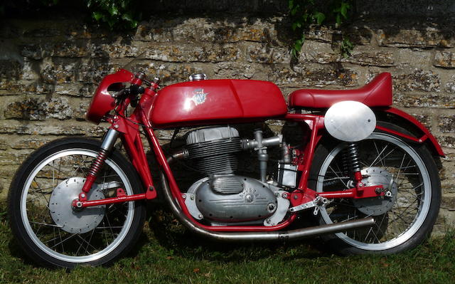 1957 Ken Brett MV Agusta 175cc Racing Motorcycle Engine no. 472449S