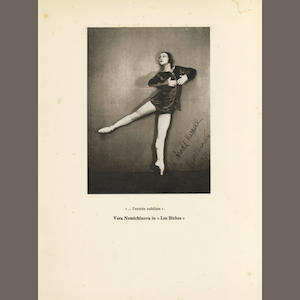 BALLET HASKELL (ARNOLD L.) Some Studies in Ballet [... Being the Impressions of an Art Critic on Ballet in General and the Russian Ballet in Particular], NUMBER 42 OF 375 COPIES