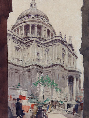 Alexander Mason Trotter (1891-1946) St Paul's Cathedral
