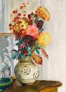 Henri Lebasque (1865 - 1937) Bouquet de fleurs dans un vase
