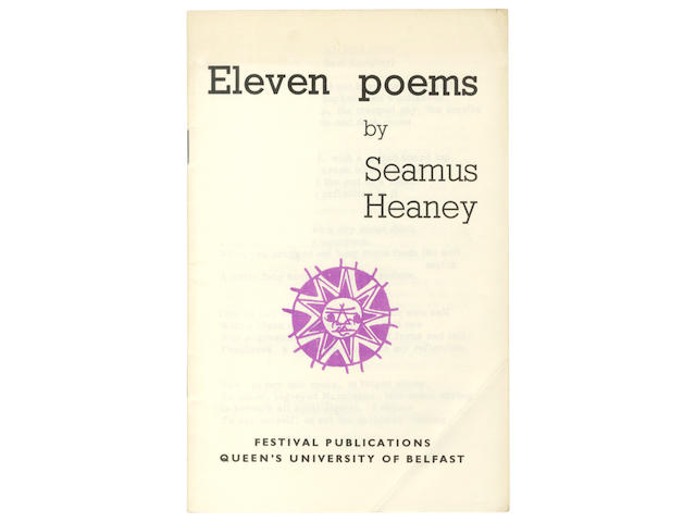 HEANEY (SEAMUS) Eleven Poems, [1965]--LONGLEY (MICHAEL) Ten Poems, [1966], FIRST EDITIONS
