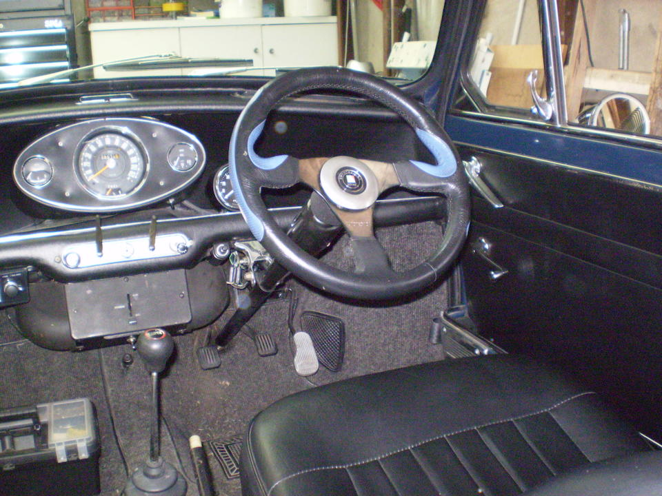 Believed to be the earliest surviving Australian,1965 Morris Mini Cooper S Mark 1  Chassis no. YKG2S2/505 Engine no. 9FSAY45885 (see text)