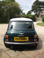 1998 Rover Mini Cooper 'Sports Pack' Saloon  Chassis no. SAXXNNAZEWD155461 Engine no. 12A2LK70364413