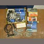 A collection of mainly new old stock handlebar controls,