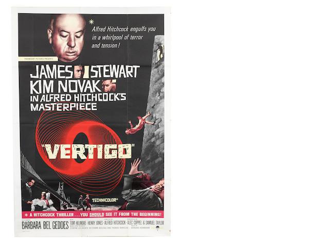Vertigo,  Paramount Pictures, 1958,