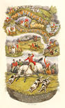 SURTEES (ROBERT SMITH) The Analysis of the Hunting Field; Being a Series of Sketches of the Principal Characters that Compose One. The Whole Forming a Slight Souvenir of the Season, 1845-6, FIRST EDITION, FIRST ISSUE