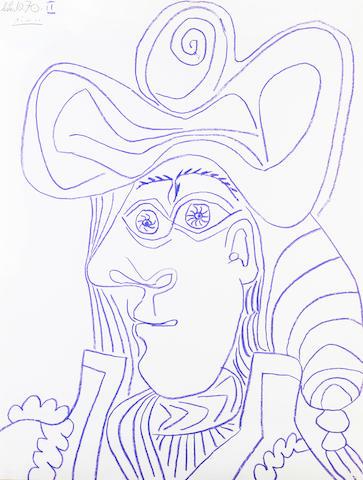 Pablo Picasso (Spanish, 1881-1973) Tête de matador