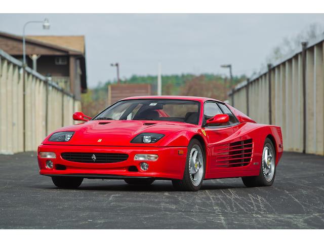 1996 Ferrari F512 M Berlinetta  Chassis no. ZFFVA40B0001 01768