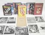 A collection of items relating to Thunderbirds and other Gerry Anderson productions