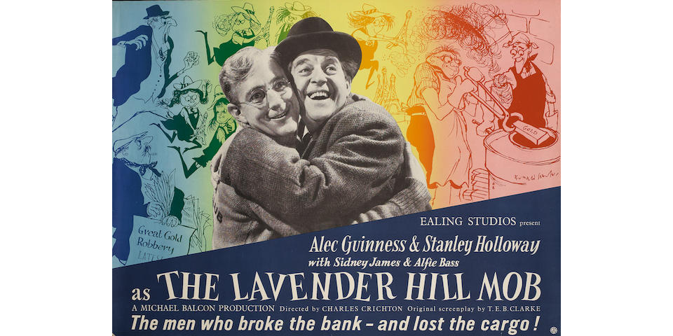 The Lavender Hill Mob,  Ealing Studios, 1951,