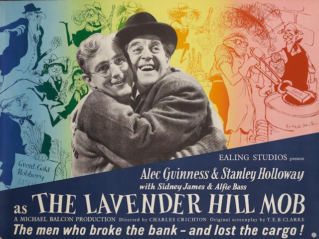 The Lavender Hill Mob, Ealing Studios, 1951,