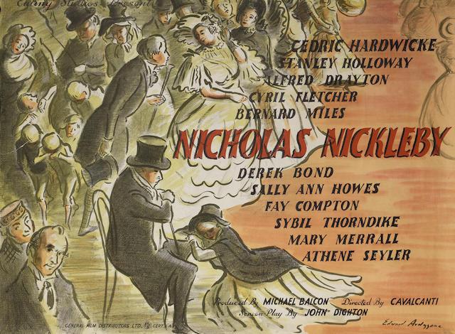Nicholas Nickleby,  Ealing Studios, 1947,