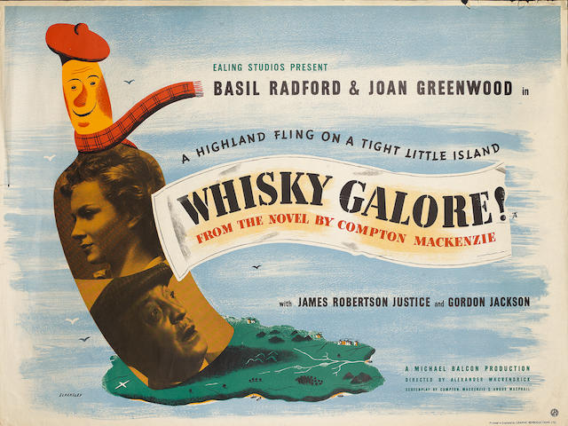 Whiskey Galore!,  Ealing Studios, 1949,