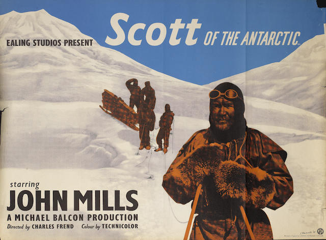 Scott Of The Antarctic, Ealing Studios, 1948,