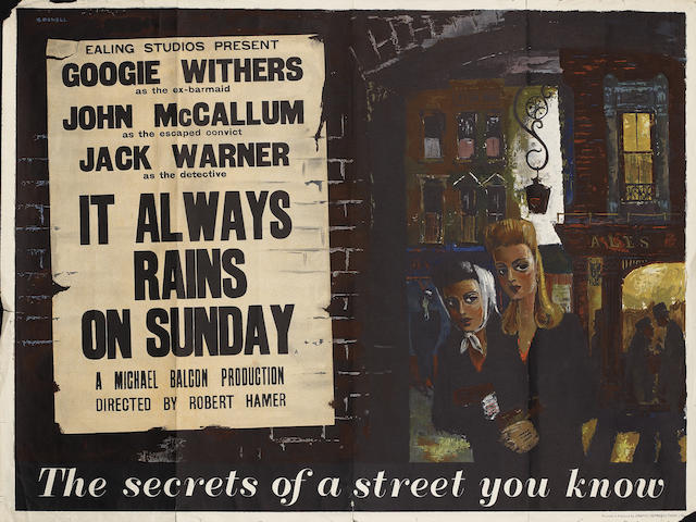 It Always Rains On Sunday,  Ealing Studios, 1947,4