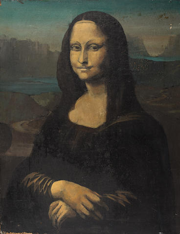 Dr Who: a 'Mona Lisa' painting from 'City Of Death',