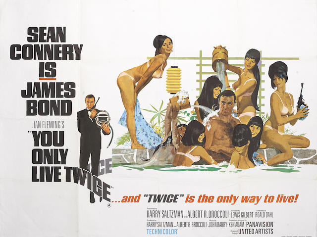 You Only Live Twice, United Artists/ Eon Productions, 1967,