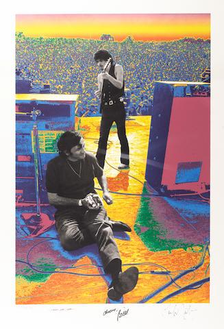 Baron Wolman: 'Carlos Santana & Bill Graham August 16, 1969',