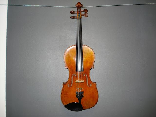 A French Violin  circa 1860 (4)